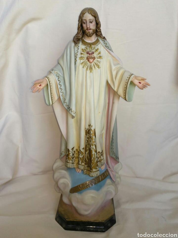 SAGRADO CORAZÓN DE JESÚS OLOT (Arte - Arte Religioso - Escultura)