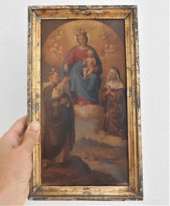 Arte: Pintura escena religiosa siglo XVIII-XIX - Foto 6 - 165700430