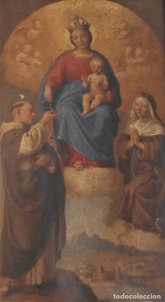 Arte: Pintura escena religiosa siglo XVIII-XIX - Foto 3 - 165700430