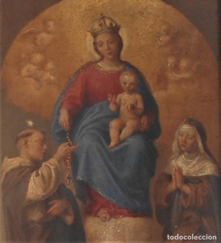 Arte: Pintura escena religiosa siglo XVIII-XIX - Foto 7 - 165700430