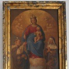 Arte: PINTURA ESCENA RELIGIOSA SIGLO XVIII-XIX. Lote 165700430