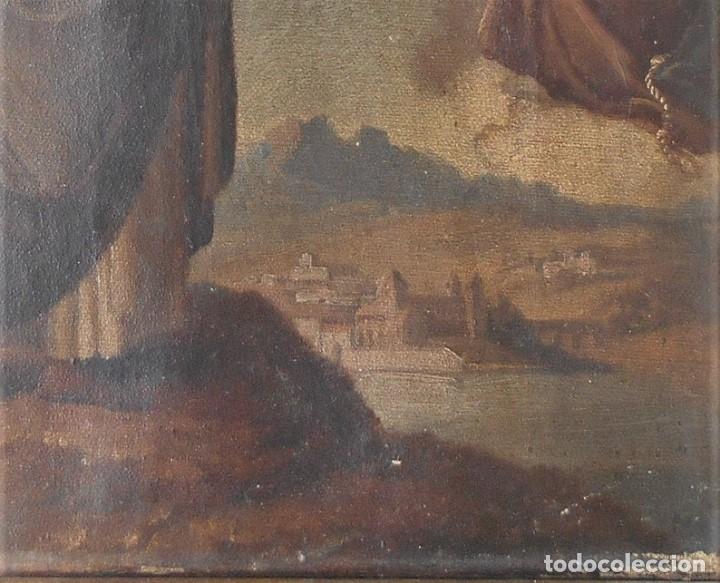 Arte: Pintura escena religiosa siglo XVIII-XIX - Foto 4 - 165700430