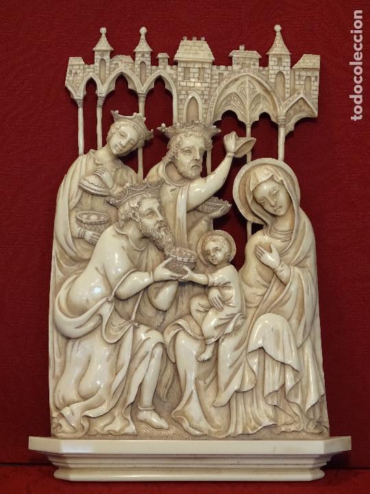 ADORACIÓN DE LOS REYES (Arte - Arte Religioso - Escultura)