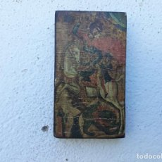 Arte: ICONO EN MADERA. Lote 166503414