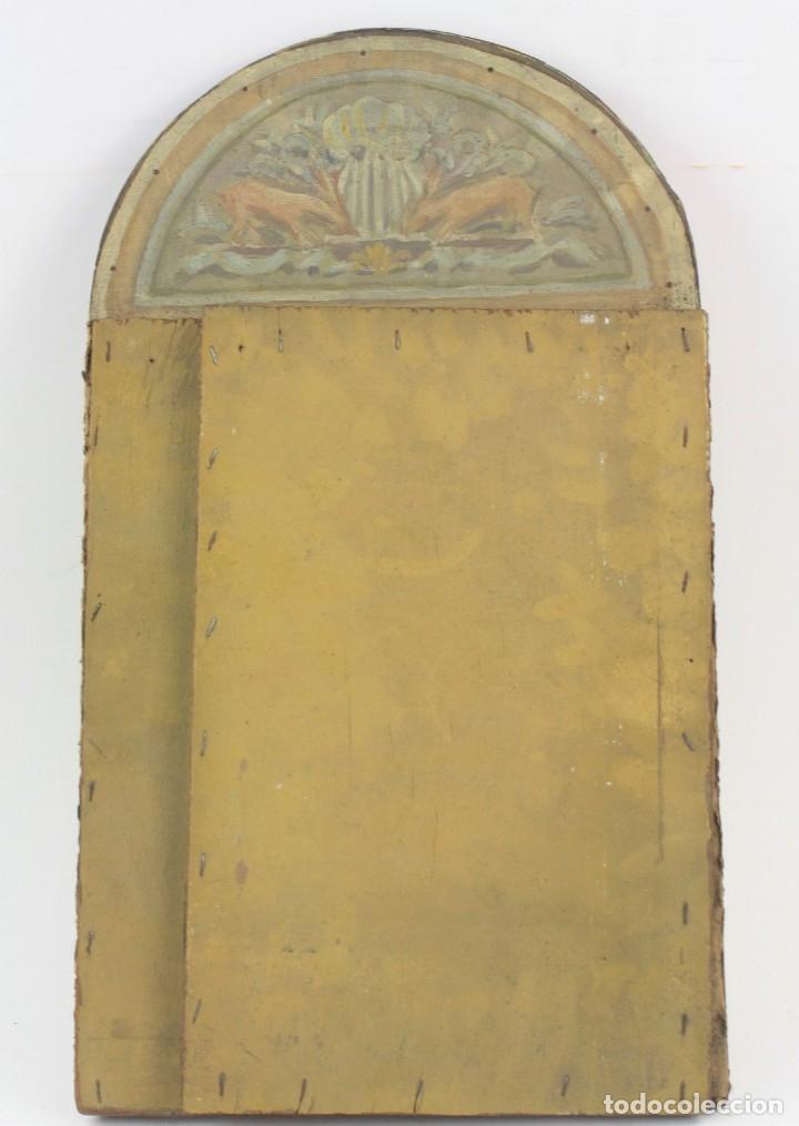 Arte: Francesc Vidal Gomà, esbozo preparatorio para la iglesia de Santa Maria de Olost, 1941, maqueta. - Foto 12 - 166547030