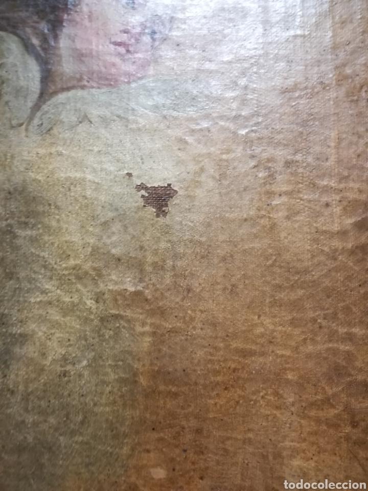 Arte: Inmaculada óleo sobre lienzo XVIII original - Foto 14 - 166720526