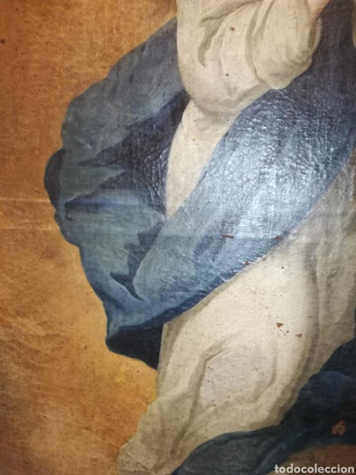 Arte: Inmaculada óleo sobre lienzo XVIII original - Foto 17 - 166720526