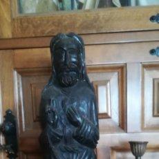 Kunst - Antigua talla de madera, religiosa - 166778394