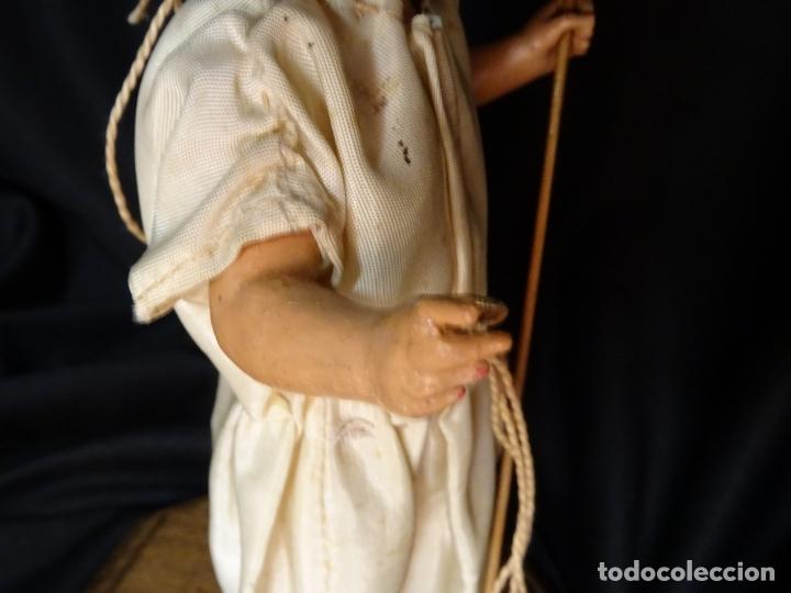 Arte: talla en madera figura niño jesus de la bola. colonial.siglo XVIII. - Foto 35 - 187177405