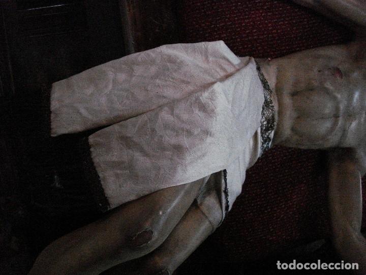 Arte: Cristo yacente talla de madera grandes medidas - Foto 5 - 166794798