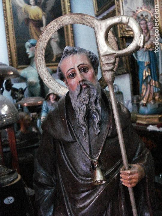 Arte: San Antonio abad estuco de Olot - Foto 2 - 166795334