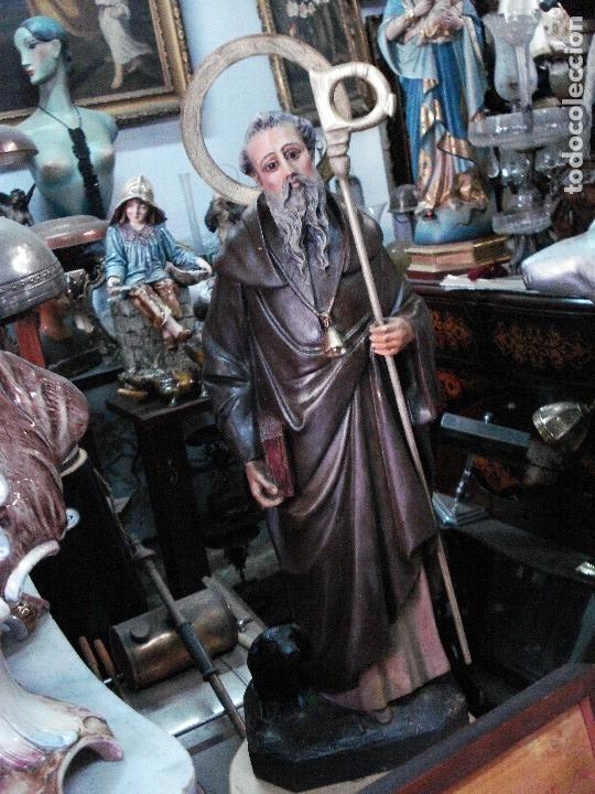Arte: San Antonio abad estuco de Olot - Foto 3 - 166795334