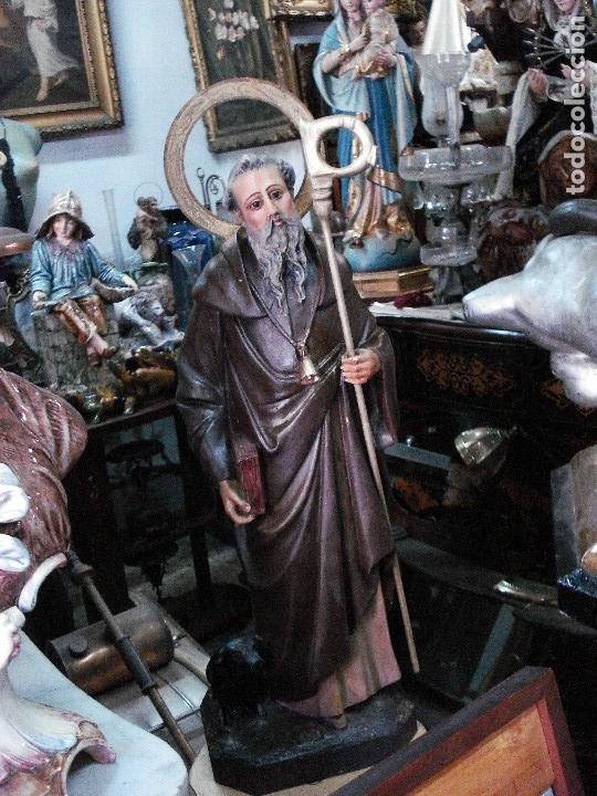 SAN ANTONIO ABAD ESTUCO DE OLOT (Arte - Arte Religioso - Escultura)