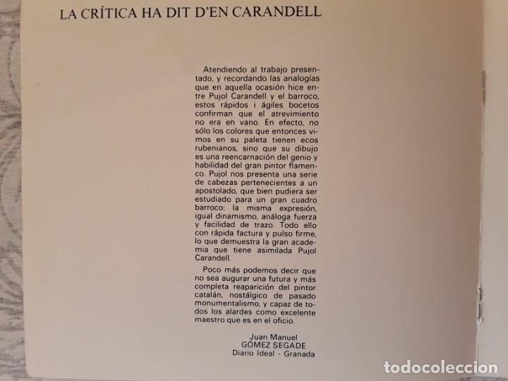 Arte: San Pedro. Oleo/tela de Pujol Carandell - Foto 5 - 163978906