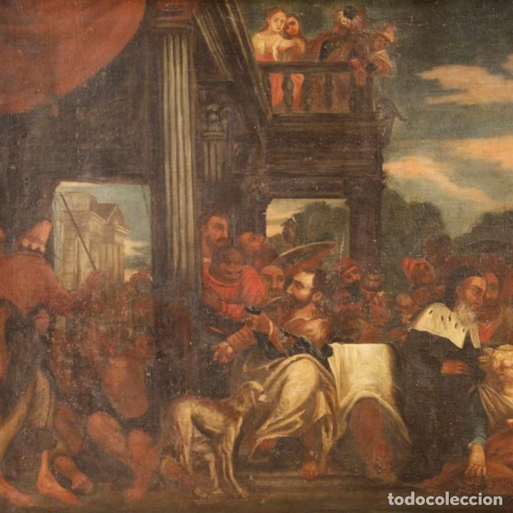 Arte: Antigua pintura religiosa italiana del siglo XVIII - Foto 3 - 166867372