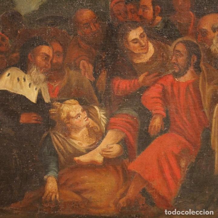 Arte: Antigua pintura religiosa italiana del siglo XVIII - Foto 4 - 166867372
