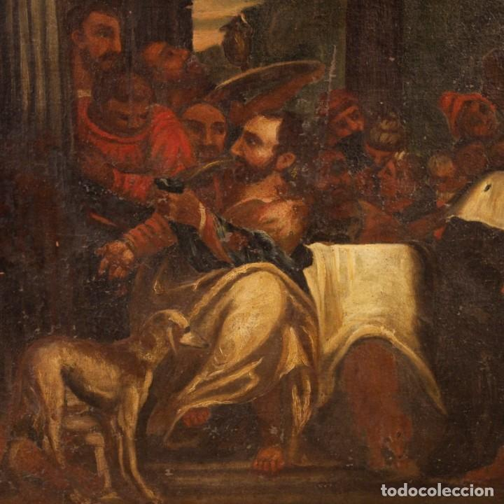 Arte: Antigua pintura religiosa italiana del siglo XVIII - Foto 5 - 166867372