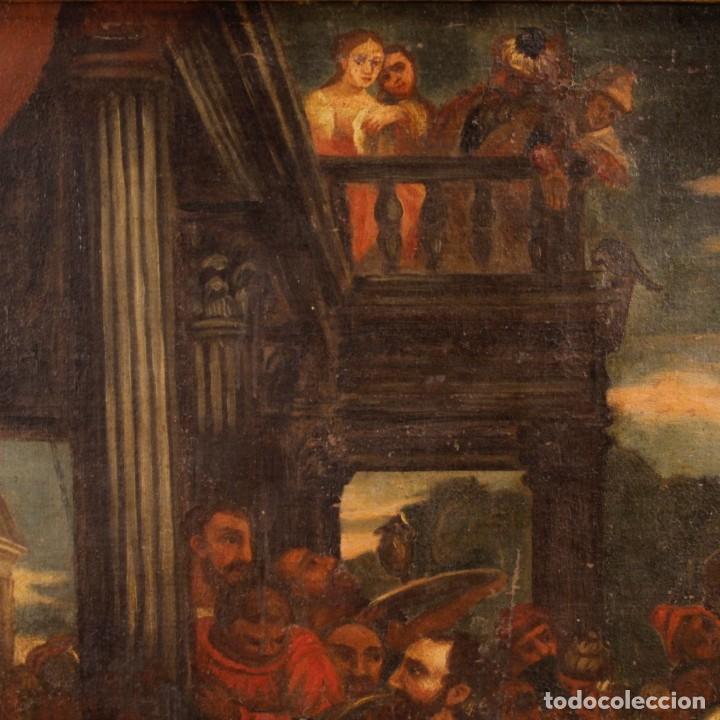 Arte: Antigua pintura religiosa italiana del siglo XVIII - Foto 6 - 166867372