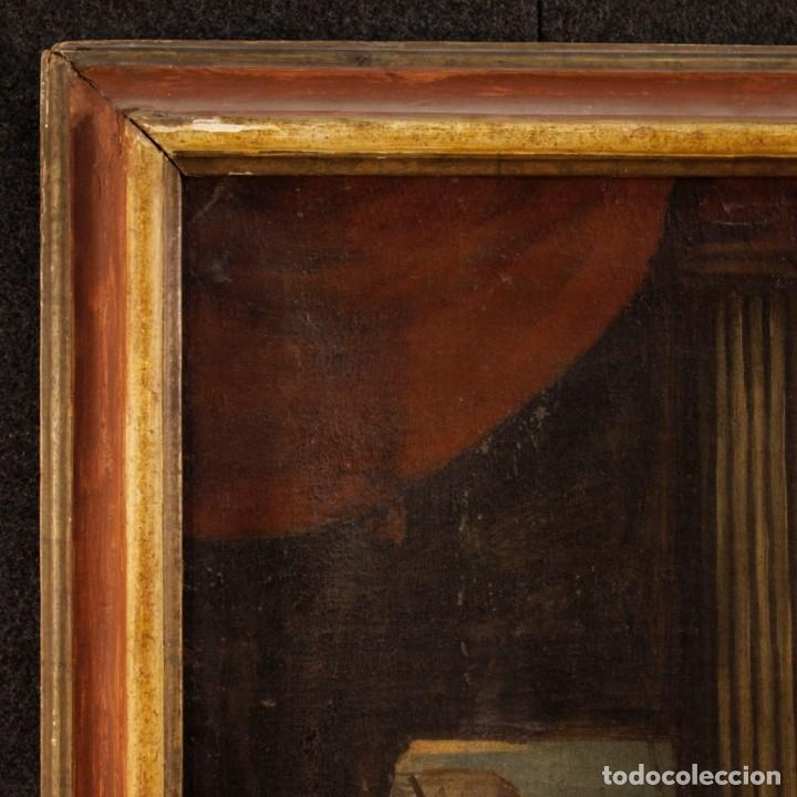 Arte: Antigua pintura religiosa italiana del siglo XVIII - Foto 7 - 166867372