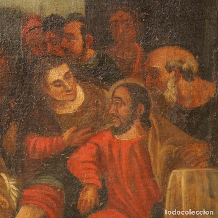Arte: Antigua pintura religiosa italiana del siglo XVIII - Foto 10 - 166867372