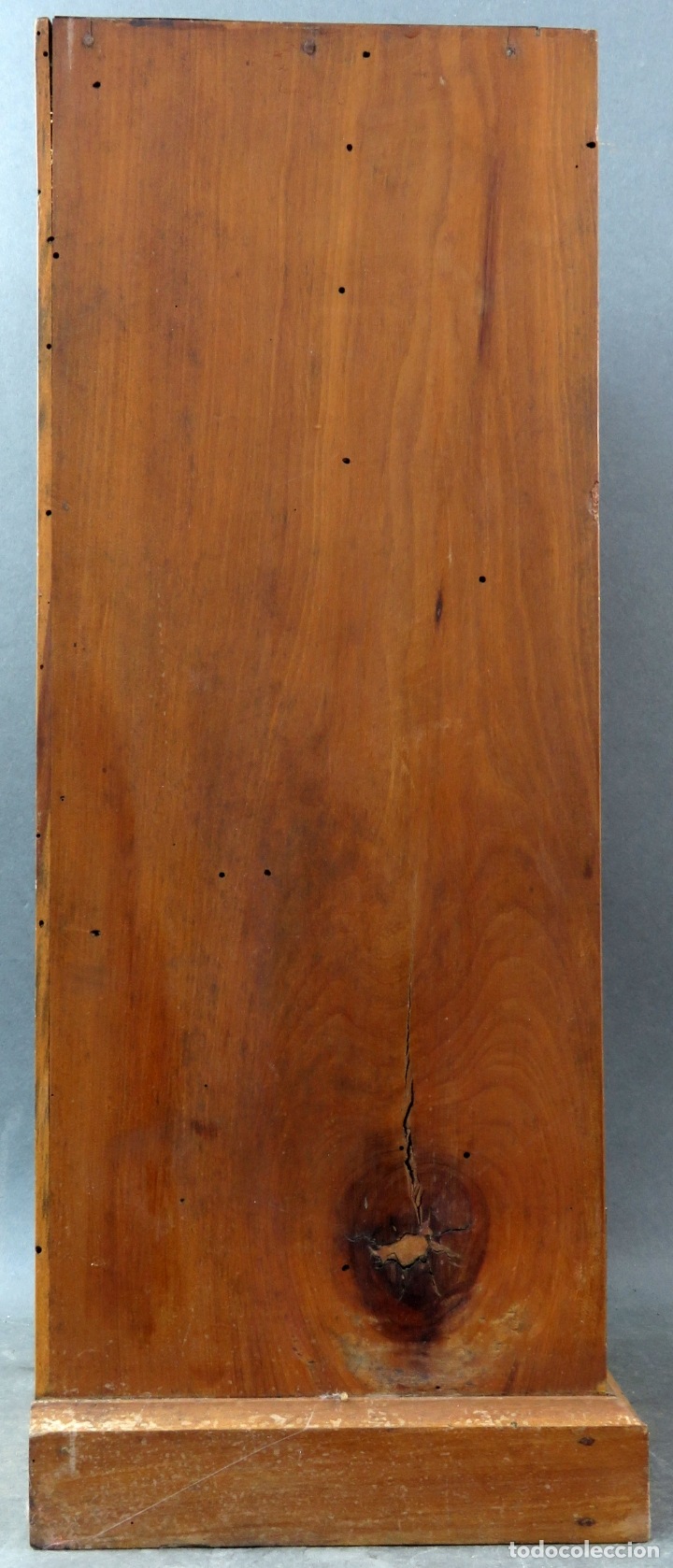 Arte: Capilla limosna visita domiciliaria Sagrada Familia en madera tallada policromada siglo XX - Foto 10 - 167120676