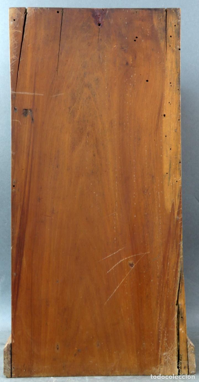 Arte: Capilla limosna visita domiciliaria Sagrada Familia en madera tallada policromada siglo XX - Foto 11 - 167120676