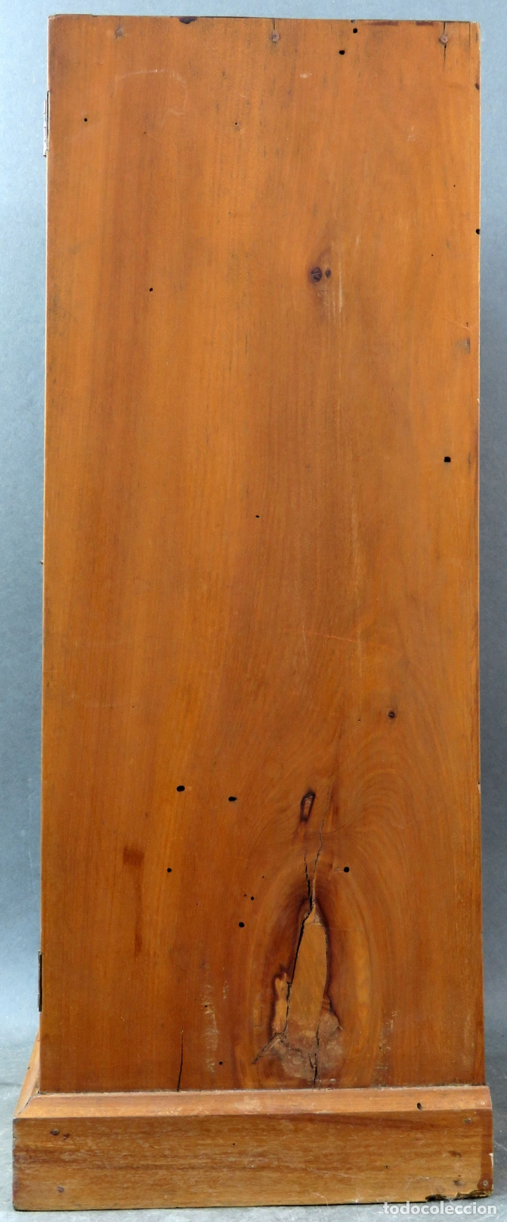 Arte: Capilla limosna visita domiciliaria Sagrada Familia en madera tallada policromada siglo XX - Foto 13 - 167120676