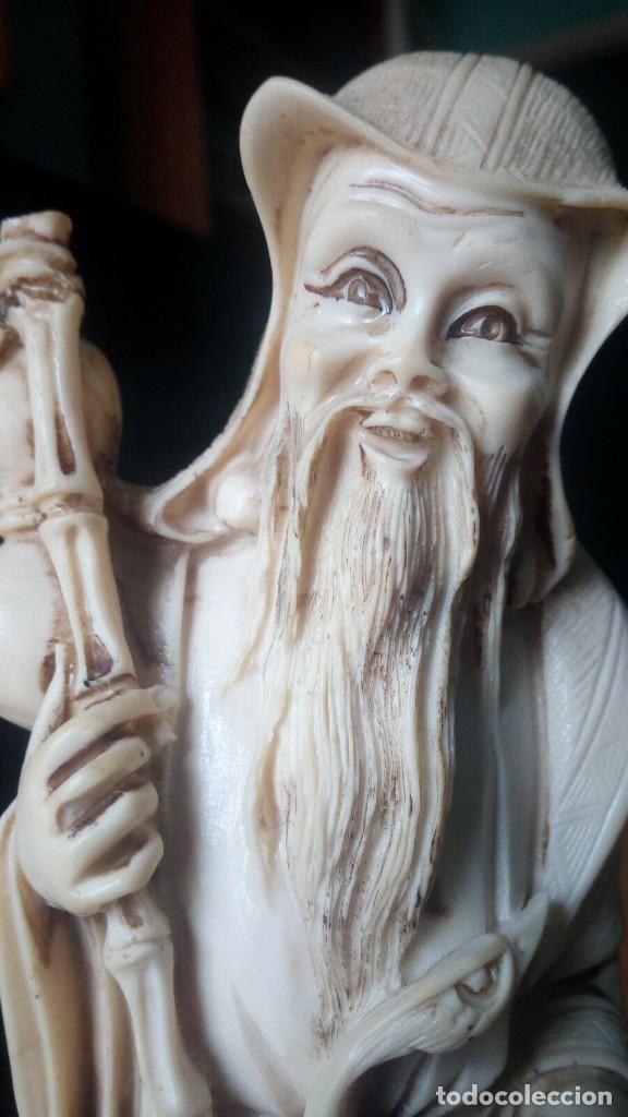 Arte: Escultura tallada a mano. - Foto 3 - 167128904