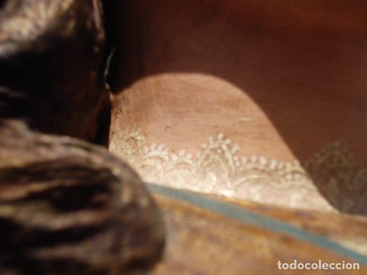 Arte: INMACULADA CONCEPCIÓN ESCUELA ESPAÑOLA SXIX TALLA DE MADERA GRANDES MEDIDAS - Foto 18 - 167145492