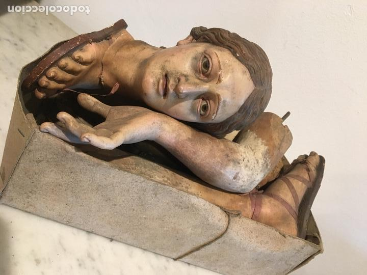 VIRGEN CAP Y POTA DEL XVIII-XIX ATRIBUIDA A RAMÓN AMADEU, EN MADERA TALLADA, CALIDAD EXTREMA (Arte - Arte Religioso - Escultura)