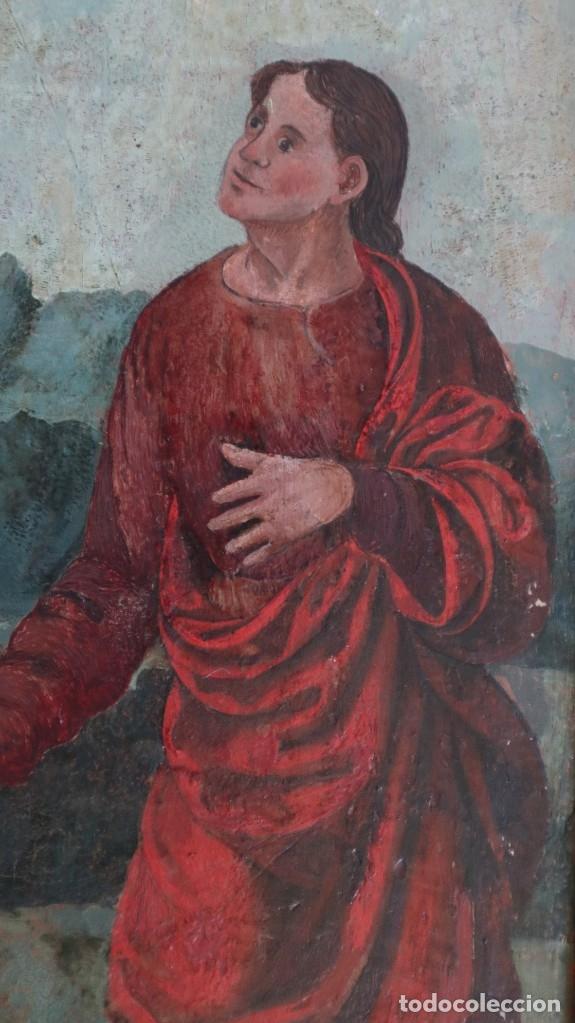 Arte: Calvario. Oleo sobre tabla. Escuela flamenca. Siglo XVI. - Foto 31 - 117955635