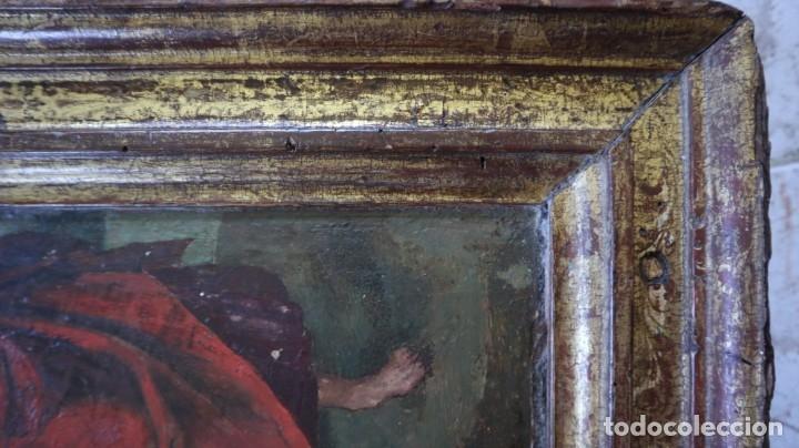 Arte: Calvario. Oleo sobre tabla. Escuela flamenca. Siglo XVI. - Foto 34 - 117955635