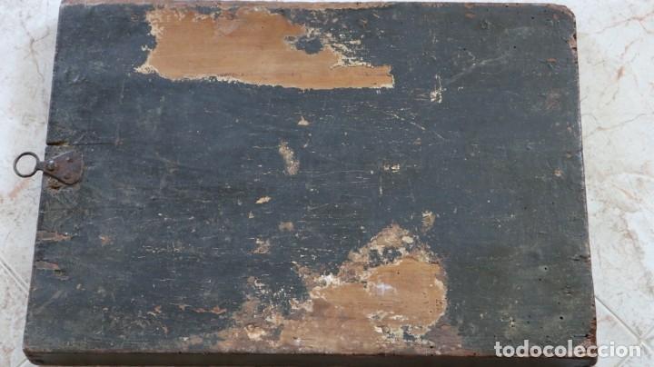 Arte: Calvario. Oleo sobre tabla. Escuela flamenca. Siglo XVI. - Foto 36 - 117955635