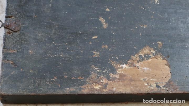 Arte: Calvario. Oleo sobre tabla. Escuela flamenca. Siglo XVI. - Foto 38 - 117955635