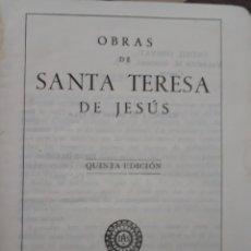 Arte: SANTA TERESA DE JESUS. Lote 167690114