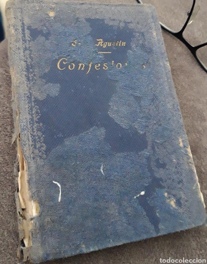 Arte: Confesiones de San Agustin. - Foto 2 - 167692716