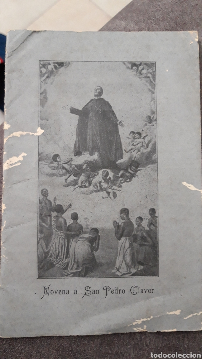 NOVENA A SAN PEDRO CLAVER.MADRID 1929 (Arte - Arte Religioso - Iconos)