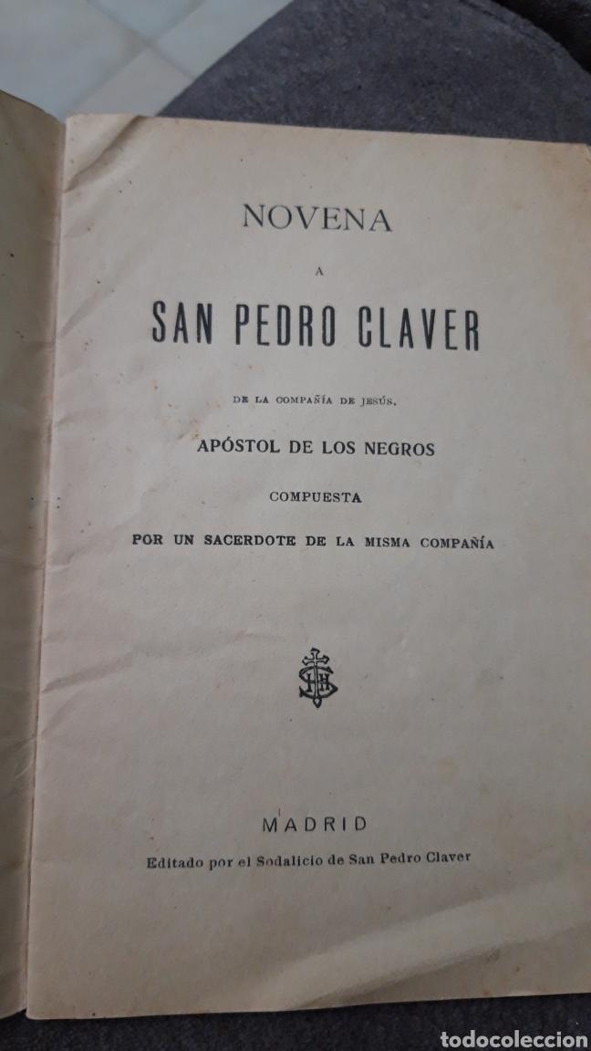 Arte: Novena a San Pedro Claver.Madrid 1929 - Foto 2 - 167712816