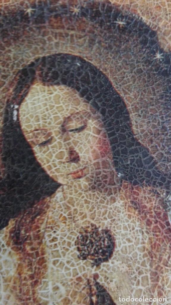 Arte: cuadro con virgen 47 cm x 37 cm - Foto 4 - 161540922