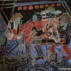 Arte: ROCK&ROLL 1985. PEDRO SOBRADO. Lote 167959336