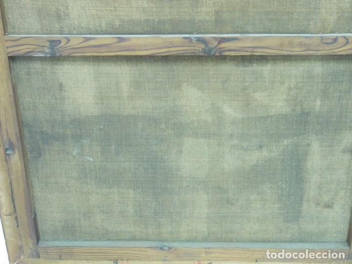Arte: EXTRAORDINARIO Y GRAN CUADRO AL OLEO DE UN ECCE HOMO - ESCUELA ESPAÑOLA S XVIII - Foto 11 - 167973512