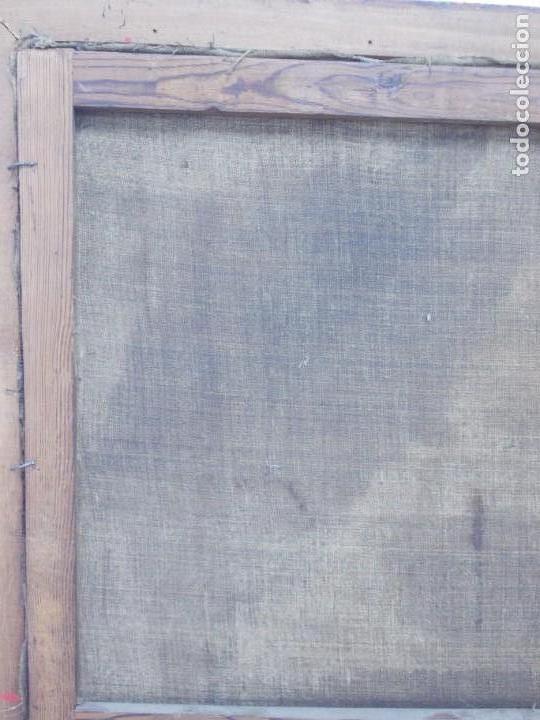 Arte: EXTRAORDINARIO Y GRAN CUADRO AL OLEO DE UN ECCE HOMO - ESCUELA ESPAÑOLA S XVIII - Foto 12 - 167973512
