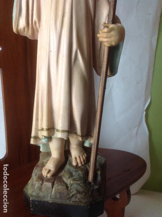 Arte: MUY ANTIGUA FIGURA OLOT , NIÑO JESUS CON LA CRUZ , EN UNA GRAN CAPILLA MODERNISTA - Foto 27 - 167985024