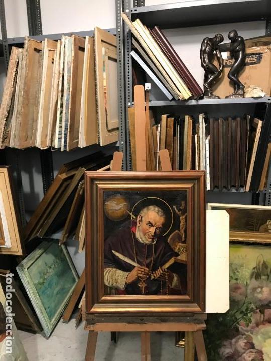 RETRATO DE SANTO TEOLOGO (Arte - Arte Religioso - Pintura Religiosa - Oleo)