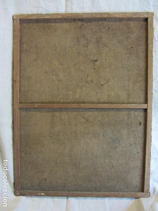 Arte: OLEO SOBRE LIENZO VIRGEN PURÍSIMA-INMACULADA CONCEPCIÓN SIGLO XVIII - Foto 7 - 168039912