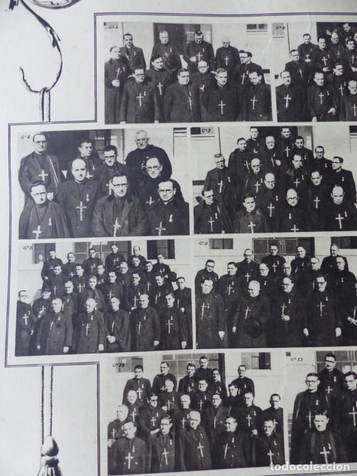Arte: CARTEL VALENCIA - RECUERDO DE LA GRAN MISION DADA POR LOS P. P. PAULES Y SACERDOTES DEL CLERO - 1949 - Foto 9 - 168085068