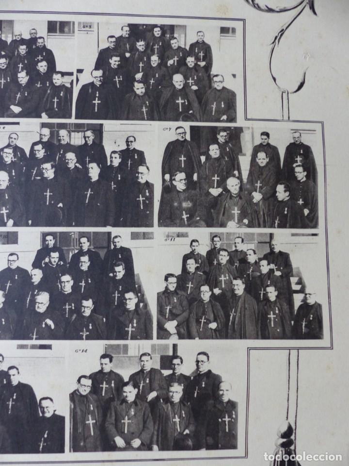 Arte: CARTEL VALENCIA - RECUERDO DE LA GRAN MISION DADA POR LOS P. P. PAULES Y SACERDOTES DEL CLERO - 1949 - Foto 10 - 168085068