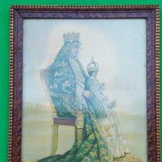 Arte: LITOGRAFIA DE LA VIRGEN DE LOS REYES ANTERIOR A 1904. Lote 168110808