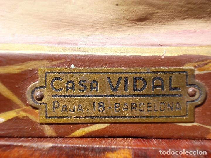 Arte: VIRGEN INMACULADA CONCEPCIÓN CASA VIDAL PASTA DE MADERA ESCUELA ESPAÑOLA - Foto 2 - 168194808