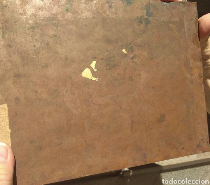 Arte: Óleo sobre Cobre San Juan Bautista siglo XVIII - Foto 10 - 168744246